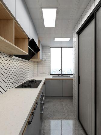 70平米公寓美式风格厨房装修图片大全
