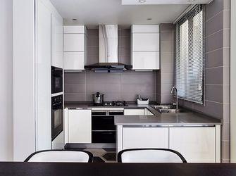 130平米四室一厅现代简约风格厨房欣赏图