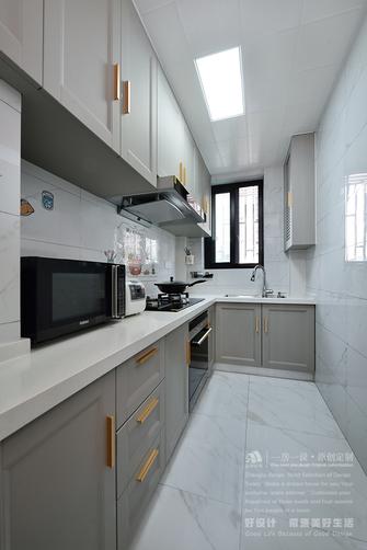 110平米现代简约风格厨房设计图