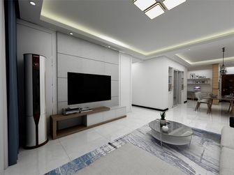120平米四室一厅现代简约风格客厅图片大全