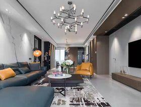 140平米四現代簡約風格客廳圖