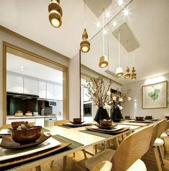 经济型80平米三室三厅宜家风格餐厅图片大全