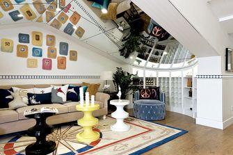 5-10万140平米三室两厅地中海风格阁楼图片