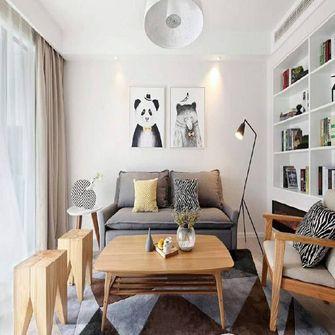 经济型120平米现代简约风格卧室图片