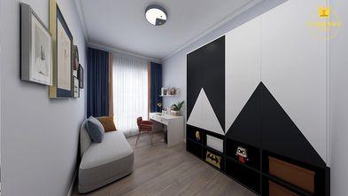 120平米四室两厅现代简约风格书房装修案例