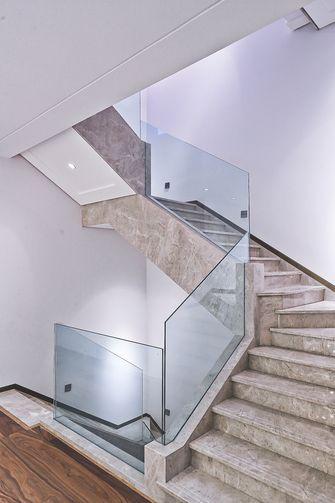 140平米三室五厅现代简约风格楼梯间装修效果图