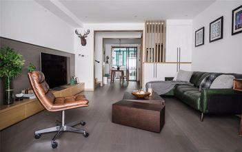 110平米混搭风格客厅效果图