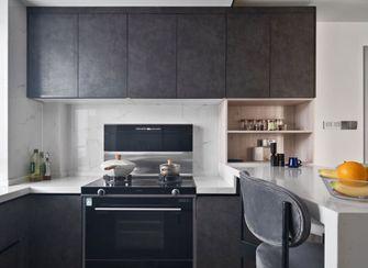 80平米三现代简约风格厨房欣赏图