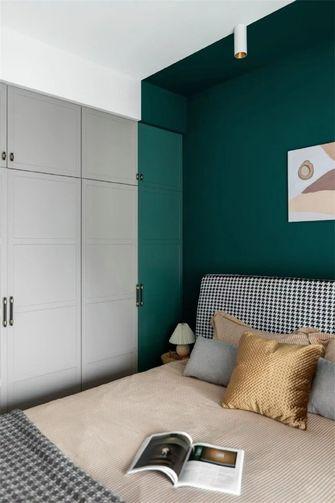 80平米一室一厅现代简约风格卧室装修效果图