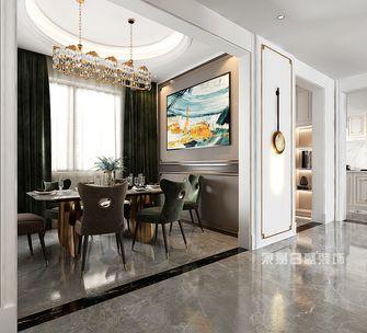 140平米别墅美式风格餐厅设计图