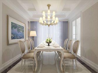 20万以上110平米一室三厅欧式风格餐厅装修案例
