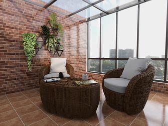 140平米现代简约风格阳台欣赏图