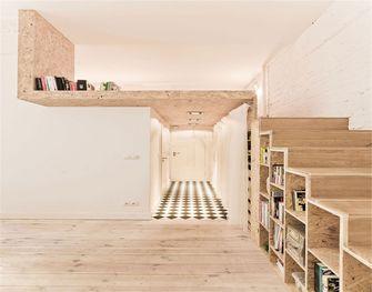60平米复式日式风格楼梯间图片