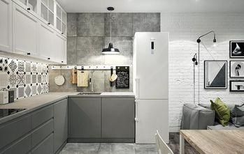 80平米现代简约风格厨房欣赏图