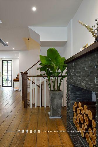 140平米别墅混搭风格楼梯间设计图