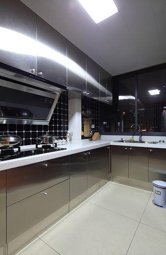 130平米三室两厅混搭风格厨房装修图片大全