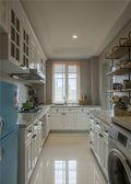 富裕型140平米四室一厅田园风格厨房效果图