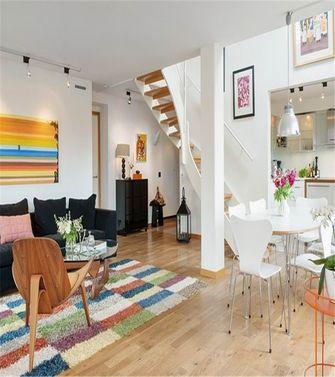 经济型80平米三室一厅混搭风格楼梯图片
