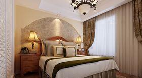 80平米田园风格卧室设计图