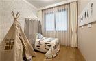 100平米三室两厅现代简约风格儿童房家具装修图片大全