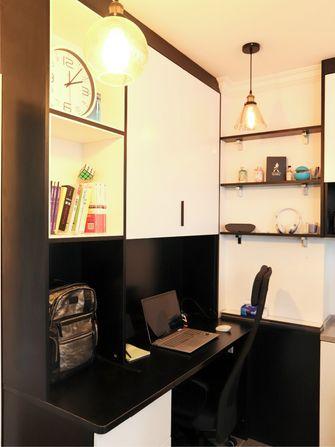 80平米现代简约风格书房装修案例