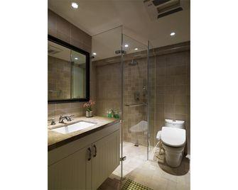 140平米四室两厅田园风格卫生间装修图片大全