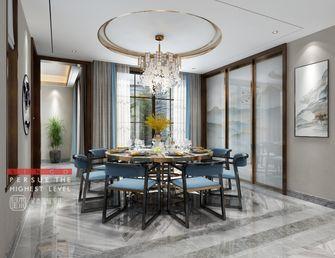 140平米别墅中式风格餐厅装修案例