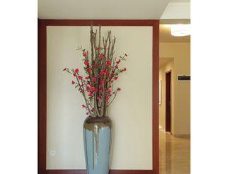 100平米三室一厅东南亚风格走廊设计图