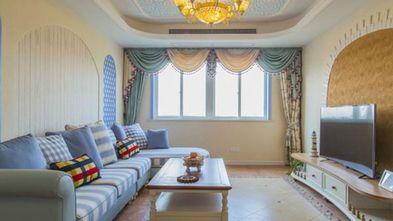 90平米复式地中海风格客厅设计图
