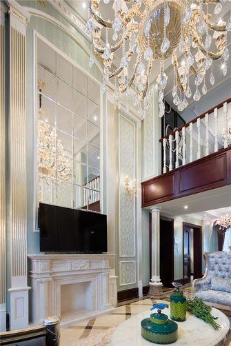 70平米一室一厅法式风格楼梯间装修案例