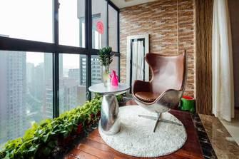140平米四室两厅英伦风格阳台设计图