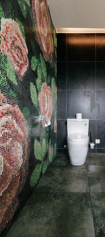 140平米三室四厅现代简约风格卫生间装修图片大全