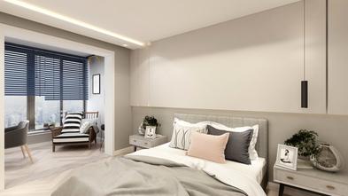 70平米一室一厅现代简约风格卧室图片