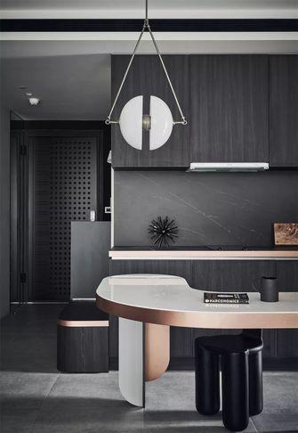 50平米一居室现代简约风格餐厅欣赏图
