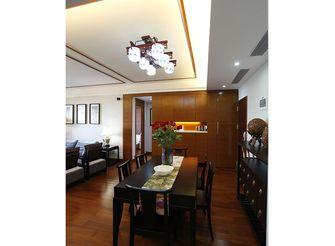 80平米三室一厅东南亚风格餐厅图片大全