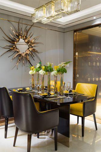 120平米三室两厅现代简约风格餐厅图