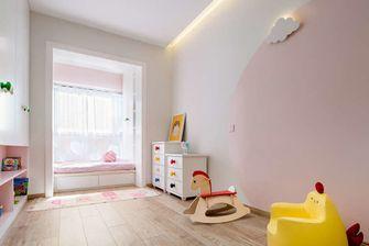 110平米三室两厅北欧风格儿童房图片