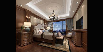 豪华型140平米四室四厅欧式风格卧室设计图