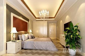 140平米复式现代简约风格卧室图片