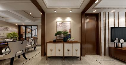 140平米四室一厅中式风格玄关设计图