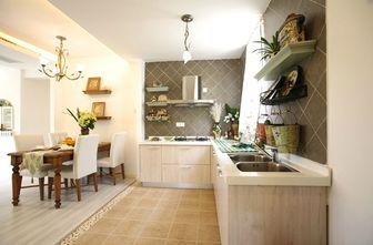 120平米三室两厅田园风格厨房图
