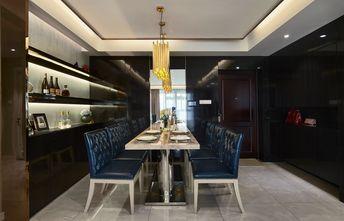 110平米四室两厅混搭风格餐厅背景墙设计图