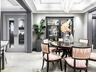 富裕型140平米现代简约风格餐厅欣赏图
