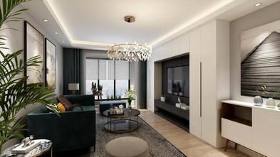 经济型100平米混搭风格客厅装修案例