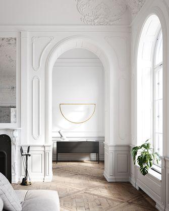 100平米公寓法式风格走廊效果图