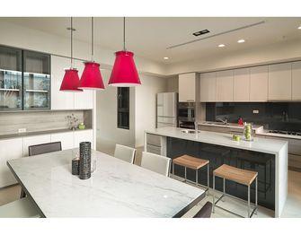 90平米三室两厅现代简约风格厨房装修图片大全