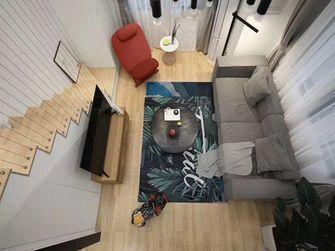 140平米复式宜家风格楼梯间图片大全