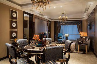 豪华型90平米三室两厅英伦风格餐厅图片大全