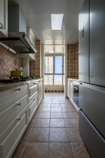 140平米三室一厅美式风格厨房装修效果图
