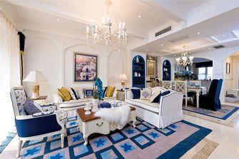 豪华型130平米四室一厅东南亚风格客厅图片